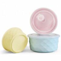 Набор керамических контейнеров для еды Xiaomi Bowl Fresh Three-piece